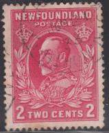 Newfoundland 1932-37 Used Sc #185 COASTAL NORTH T.P.O.A. Jun 21 33 Ry22 - 1908-1947