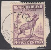 Newfoundland 1941-44 Used Sc #257 Fogo, Newf'd AU 1? 4? Split Circle - 1908-1947