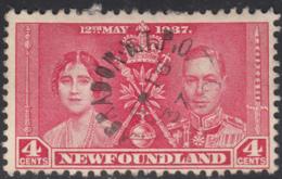 Newfoundland 1937 Used Sc #231 Labrador N. T.P.O. SE 16 37 Ry49 - 1908-1947