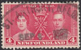 Newfoundland 1937 Used Sc #231 St. Anthony, NFLD SEP 8 1937 Telegraph? - 1908-1947