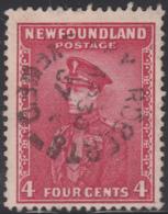 Newfoundland 1932-37 Used Sc #189 Bay Roberts, Newf'd AP 30 37 Split Circle - 1908-1947
