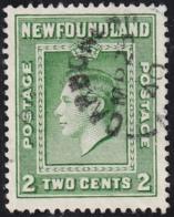 Newfoundland 1938 Used Sc #245 Carbonear, Newf'd MR 25 40 Split Circle - 1908-1947