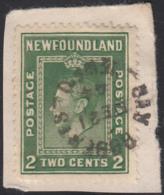 Newfoundland 1938 Used Sc #245 Bay Roberts, Newf'd DE 21 44 Split Circle - 1908-1947