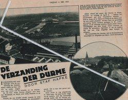 WAASMUNSTER.. 1932.. DE VERZANDING VAN DER DURME - Ohne Zuordnung