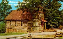 Missouri Branson Marvel Cave Park Silver Dollar City The Wilderness Log Church - Branson
