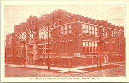 Indiana Fort Wayne Saint Paul's Lutheran School And Parish House - Fort Wayne