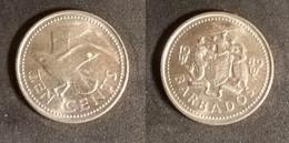 Barbados - 10 Cents 1989 Used (ba005) - Barbades