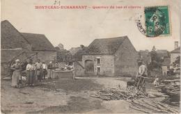 CPA  21  MONTCEAU-ECHARNANT QUARTIER DU BAS ET CITERNE - France