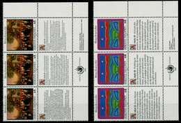 UNO WIEN Nr 150S3-151S3 Postfrisch 3ER STR ECKE-URE X780AE2 - Wien - Internationales Zentrum