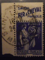 France N° 365. Timbre De Carnet. Bande Publicitaire Publicité Pub. - Publicidad