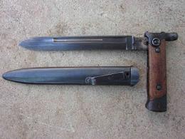BAIONNETTE PLIANTE  ITALIENNE CARCANO M1938 WW2 - Messen
