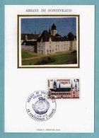 Carte Maximum 1978 - Abbaye De Fontevraud - YT 2002 - 49 Fontevraud L'Abbaye - Cartes-Maximum
