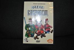"""DVD """"Ostrov Sokrovitch"""" Bon état Langue Russe Vente En Belgique Uniquement Envoi Bpost 2,50 € - Dessin Animé"""