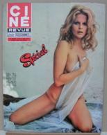 CINE REVUE N°49/1973, Connery, Gabin, Schneider, John Wayne, Bardot, Distel, Voir Description - Cinema