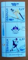 SLOVENIA 2014 XXII. Olympic Winters Games, Sochi 2014, Russia  Michel 1043-44 Used CTO Stamps - Slovenia