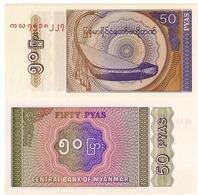 MYANNMAR, 50 PYAS, 1994, P68, UNC - Myanmar