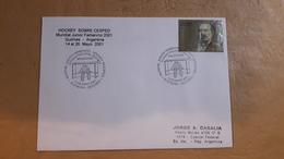 Enveloppe Argentine Distribuée Avec Le Cachet Spécial Du Hockey Féminin Mondial - Hockey (Field)