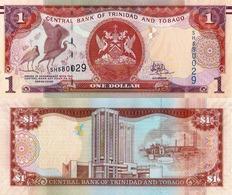 TRINIDAD & TOBAGO, 1 DOLLAR, 2006, P46, UNC - Trinidad & Tobago
