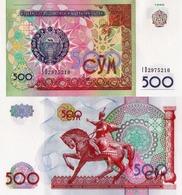 Uzbekistan, 500 Sum, 1999, P81, UNC - Uzbekistan
