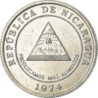 Monnaie, Nicaragua, 5 Centavos, 1974, TTB, Aluminium, KM:28 - Nicaragua