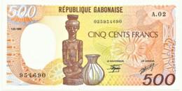 GABON - 500 Francs - 1.01.1985 - P 8 - Unc. - Serie A.02 - Gabon