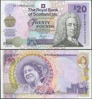 Scotland 20 Pounds. 04.08.2000 Paper Unc. Banknote Cat# P.361 - Scozia