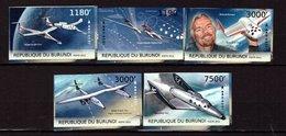 Burundi, 2012. [bq12252] Space Tourism (imperf) - USA