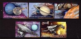 Burundi, 2012. [bq12256] Space, Voyager 2 (imperf) - USA