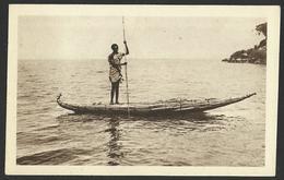 AFRICA ERITREA ETHIOPIA BARCA DI PAPIRO Postcard (see Sales Conditions) 01816 - Eritrea