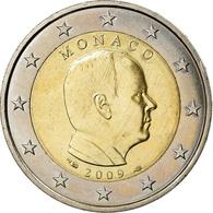 Monaco, 2 Euro, Prince Albert II, 2009, SUP, Bi-Metallic, Gadoury:MC 195 - Monaco