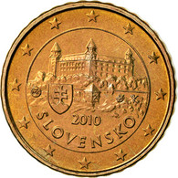 Slovaquie, 10 Euro Cent, 2010, BU, FDC, Laiton, KM:98 - Slovaquie