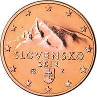Slovaquie, 5 Euro Cent, 2012, BU, FDC, Copper Plated Steel, KM:97 - Slovaquie