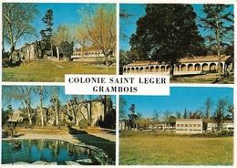84 Colonie De Vacances Des P&T Grambois (2 Scans) - Francia