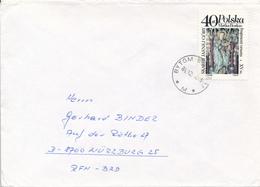 POLEN / POLAND  -  BYTOM  - 1986  -  Maria Verkündung -   Brief Nach Würzburg - 1944-.... Republik