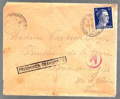 32036 - PRISONNIER TRANFORME - Guerra De 1939-45