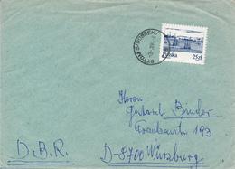 POLEN / POLAND  -  BYTOM  - 1984  -  Schiffe Auf Der Weichsel   -   Brief Nach Würzburg - 1944-.... Republik