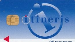 GSM  ITINERIS  ..FRANCE TELECOM MOBILES..  AVEC PUCE - Nachladekarten (Handy/SIM)