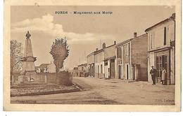 17 BORDS MONUMENT AUX MORTS 1937 édit. Delage, Photo Alilrep CPA 2 SCANS - Other Municipalities
