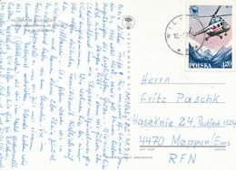 POLEN / POLAND  -  WILKASY  - 1978  -   Hubschrauber Mi-2   -   Karte Nach Meppen - Briefe U. Dokumente