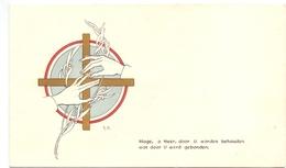 Aankondiging Huwelijk - Faire Part Mariage - Maria De Croock X Gaston De Muyt - Adegem - Oedelem Oostveld 1953 - Mariage