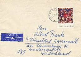 POLEN / POLAND  -  BRZESKO  -  1972 , Flucht Nach Ägypten   -  Brief Nach Düsseldorf - Briefe U. Dokumente