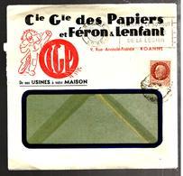 32055 - Enveloppe Commerciale Illustrée - Postmark Collection (Covers)