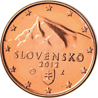 Slovaquie, Euro Cent, 2012, BU, FDC, Copper Plated Steel, KM:95 - Slovaquie