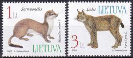 LITAUEN 2002 Mi-Nr. 790/91 ** MNH - Lituanie