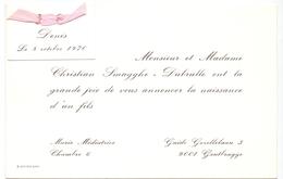 Geboortekaartje - Denis Smagghe - Gentbrugge - 8 Oct 1970 - Birth & Baptism