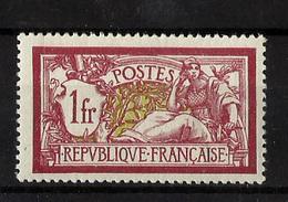 FRANCIA  **121 Nuevo Sin Charnela. Cat.110 € - 1900-27 Merson