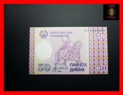 TAJIKISTAN 50 Diram 1999 P. 13  UNC - Tadschikistan