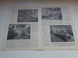 "Origineel Knipsel ( 2325 ) Uit Tijdschrift "" Ons Volk ""  1927 :  A. K. M. Noyons  Leuven   Louvain - Vieux Papiers"