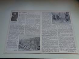 """Origineel Knipsel ( 2327 ) Uit Tijdschrift """" Ons Volk """"  1933 :  Z. E. H. Pater Van Genechten  Gheel Geel  China Chine - Old Paper"""