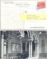 ESPAGNE CACHET MURCIA BALNEARIO FORTUNA Du 10-10-1919 – TARJETA POSTAL – STAMP YT 244 - Cartas